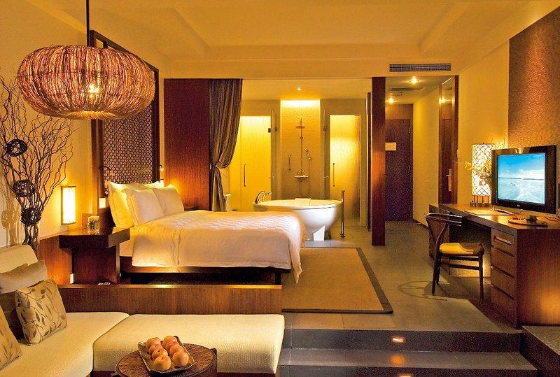 Insel Hainan##Hilton Sanya Resort & Spa   Cosmic Hochzeitsreisen